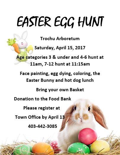 Easter Egg Hunt @ Trochu Arboretum | Trochu | Alberta | Canada