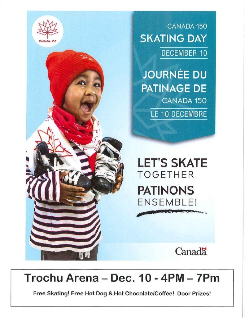 Canada 150 Skating Day @ Trochu Arena | Trochu | Alberta | Canada