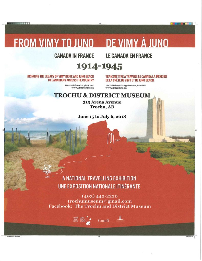 Trochu Museum - From Vimy to Juno