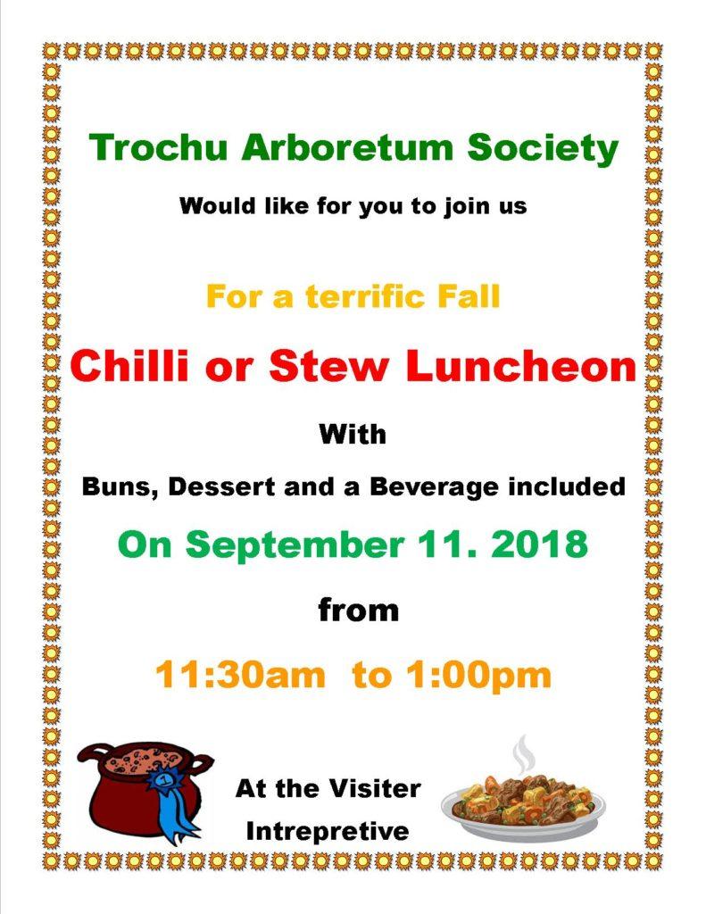 Arboretum Lunch @ The Arboretum at Trochu