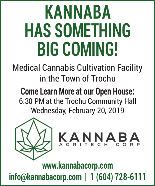 Kannaba Open House @ Trochu Community Centre