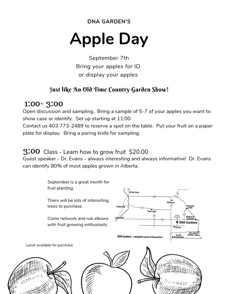 DNA Garden's Apple Day @ DNA Gardens