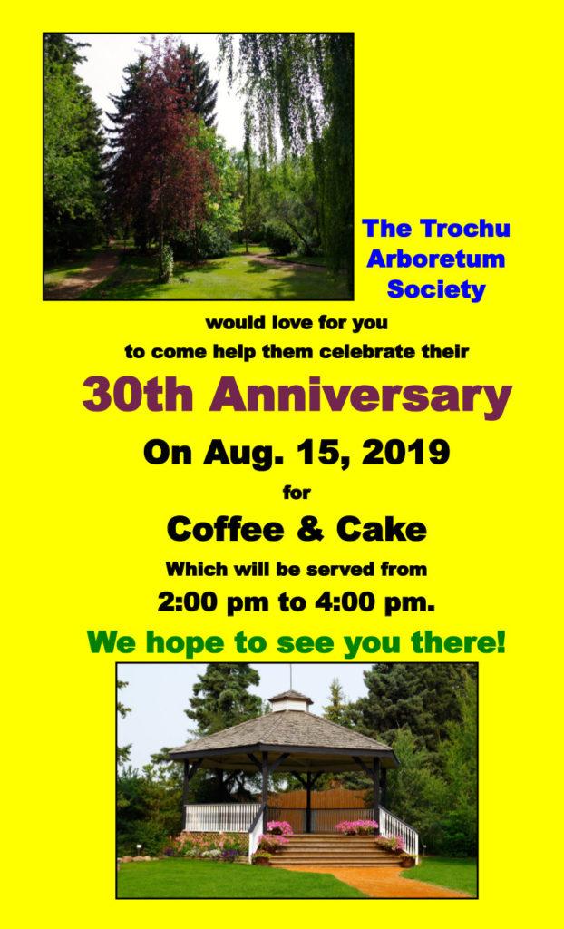 Trochu Arboretum 30th Anniversary @ Trochu Arboretum