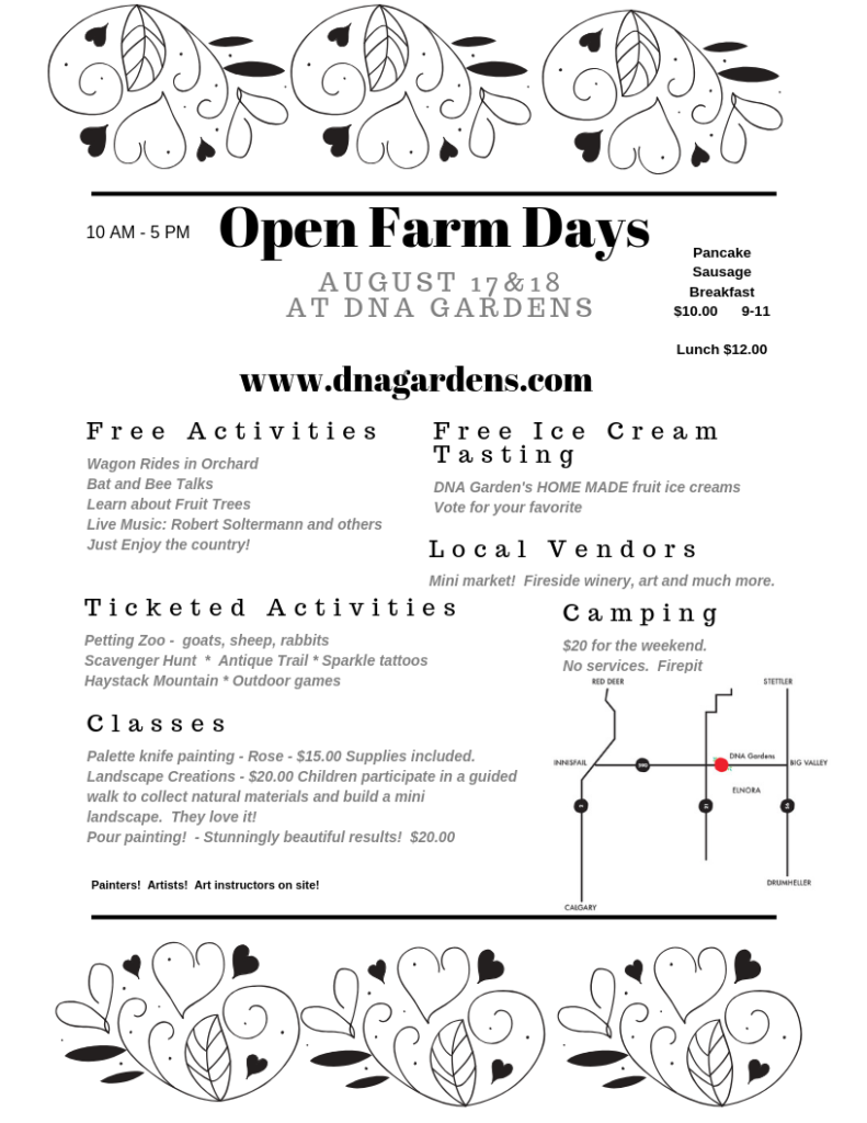 DNA Garden's Open Farm Days @ DNA Gardens