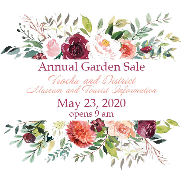 Trochu Museum Annual Garden Sale @ Trochu & District Museum