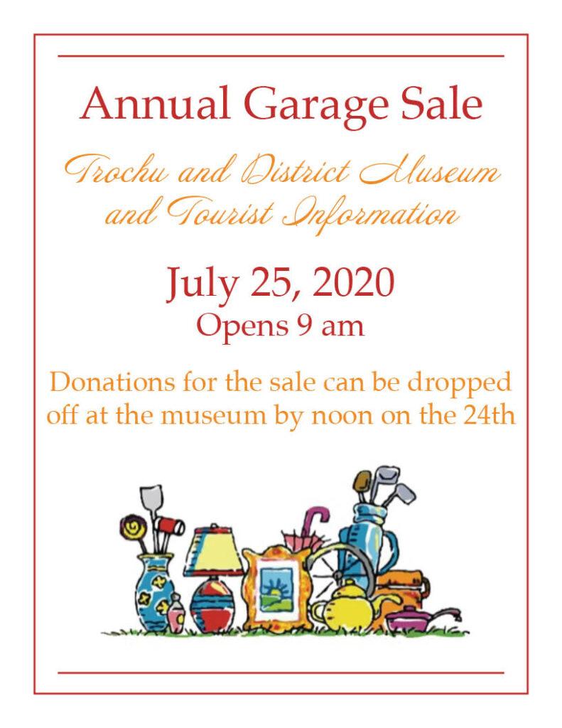 Trochu Museum Annual Garage Sale @ Trochu & District Museum